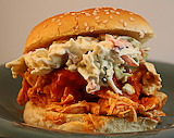 ^ Buffalo Chicken Sandwich