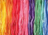 Rainbow Yarn @ Pinterest...
