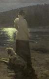 Рєпін І.Ю. Місячна ніч. Здравньово