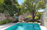 Luxury sea view courtyard pool, Dubrovnik, Croatia