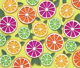 cut-paper citrus