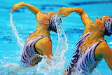 #Olympic Synchronized Swimming Routine