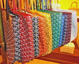 Rainbow of Tote Bags