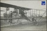 Glenn H Curtiss in Reims Racer - Hard