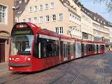 Tram in Freiburg-Germany