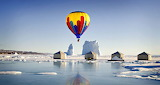 Hot Air Ballooning in the Arctic