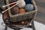 Basket o yarn
