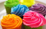 Colorful Cupcakes @ Pinterest...