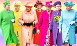 Queen Elizabeth Rainbow
