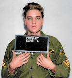 Elvis Presley joining the Army 1958