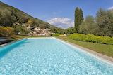 Beautiful countryside villa pool and garden