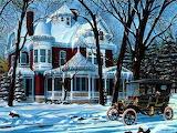 Winter in olden days