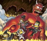 The Simpsons Treehouse of Horrors Ned Devil