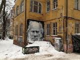 Kaliningrad, Lev Tolstoy, Street art