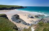 Low Tide on Polly Joke Beach, Cornwall, Kernow