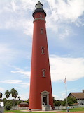 Ponce de Leon Inlet Lighthouse and Museum in Central Florida.
