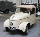 377 exemplaires furent produits de 1941 à 1945.Moteur électrique