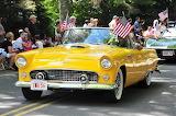 1956 yellow Ford Thunderbird
