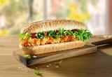 ^ Crunchy Fried Chicken Sub