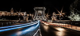 Budapest-bridge-at-night
