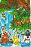 Pan and His Mermaids