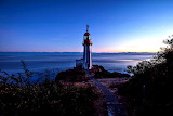 Sunrise Over Sherringham Point Lighthouse Canada