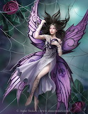 fairy with spider