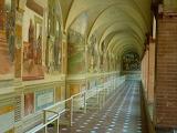 Abbazia di Monte Oliveto Maggiore Siena - primo chiostro