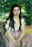 The Bohemian by Pierre Auguste Renoir