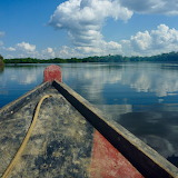 Boat on the River Amazon