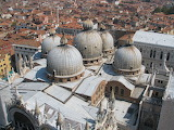 San Marco Basilica, bird's view from the campanile