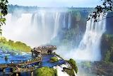 Waterfall Iguazu, Argentina,Brasil