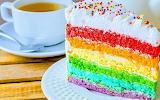 Slice of rainbow @ Le Ricette di Simy