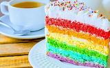 Slice of rainbow @ Le Ricette di Simy