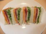 ^ Rainbow sandwich