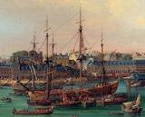 Armement d'une Frégate à Brest en 1773 Louis Nicolas Van Blarenb
