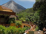 View of Volcano From The Tabacon Grand Spa Coasta Rica
