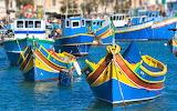 fishing boats, Malta