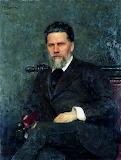 Рєпін І.Ю. Портрет Крамського