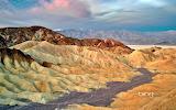 Zabriskie Point in Death Valley National Park. California