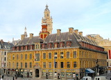 The old stock exchange of Lille