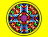 Mandala Groc - Yellow Mandala