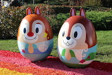 quiet chip and dale(turned into eggs for easter)