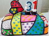 Britto birthday cake