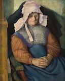 Mrs Box, 1919, Dora Carrington