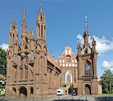 St. Anne Church, Vilnius, Lithuania