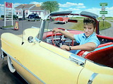 Elvis Yellow Cadillac 864