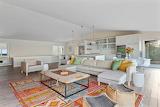 White Lounge Area Room