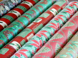 Christmas wrapping-paper