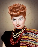 Lucille Ball in living color